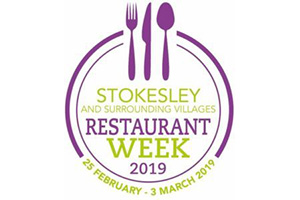 Stokesley Restaurant Week: 25 Feb – 2 March 2019
